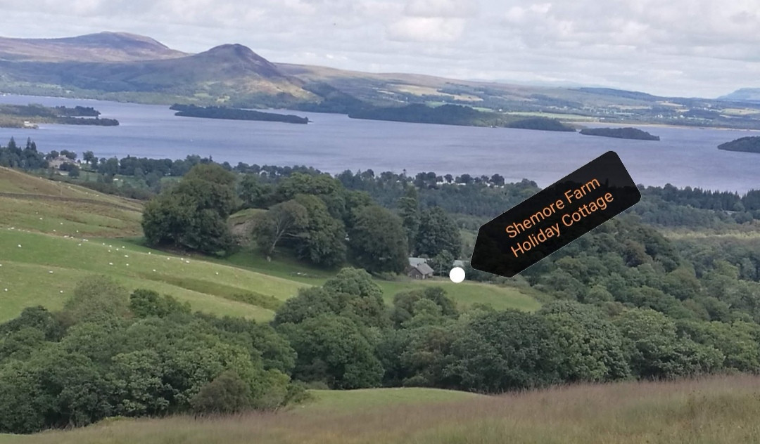 Shemore, with Loch Lomond in front