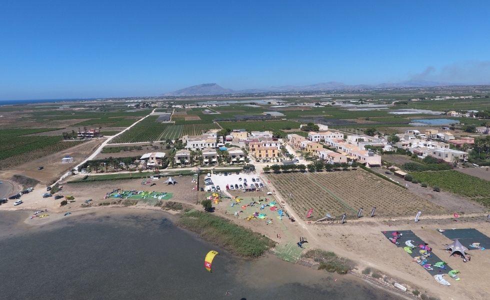Resort Santa Maria vista drone