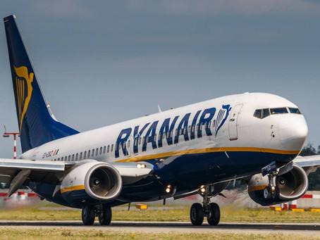 Ryanair cancella fino al 25% dei voli italiani a corto raggio.