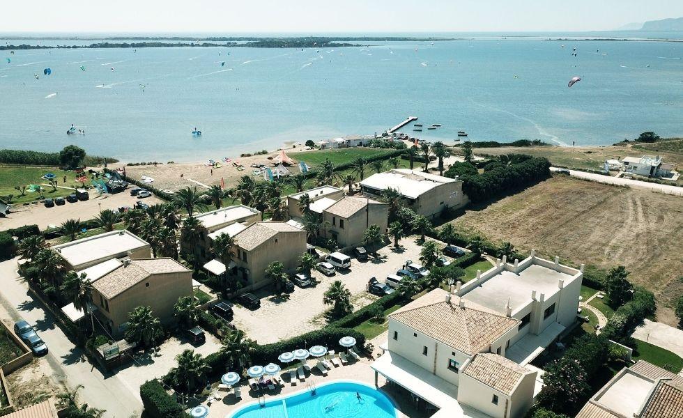 Resort Santa Maria vista drone mare