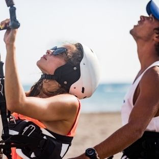 Lezione kitesurf Marsala