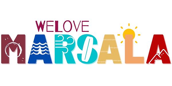 logo we love marsala