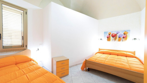 Camera da letto rosso VaVillaVà