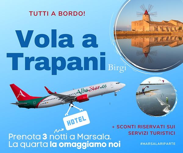 Vola a Trapani