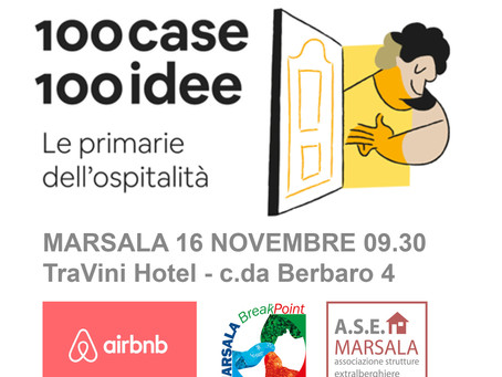 100Case100Cose - Airbnb a Marsala con l' Associazione Strutture Extralberghiere