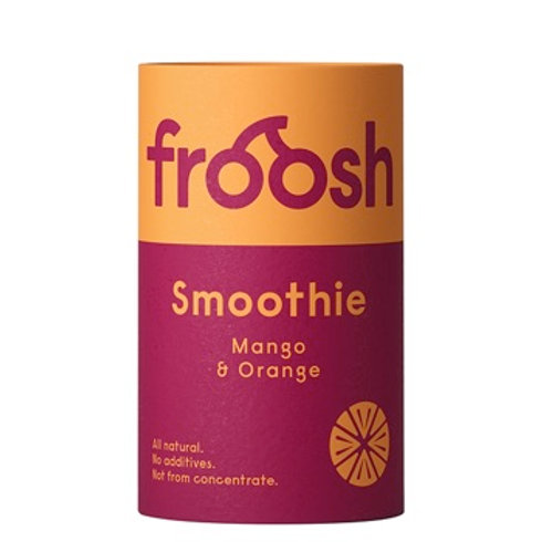 Froosh Smoothie Mango & Orange Paper Can 150ml