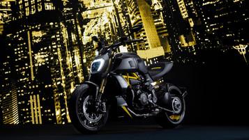 Ducati lanserer en «black and steel»-versjon av Diavel 1260 S