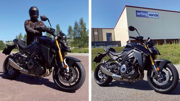 Vi tester helt nye Suzuki GSX-S1000 – hils på testføreren og vinn et abonnement!