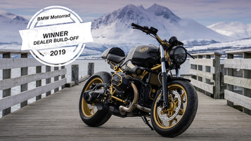 Tromsø Motor vant BMW Motorrad Nordic Dealer Build Off 2019