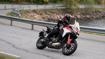 Ducati Multistrada V4 S ble årets «Grande finale» for testføreren