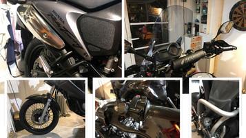 BikerDudes gir 2008 Honda Transalp XL700 en «makeover», del 4