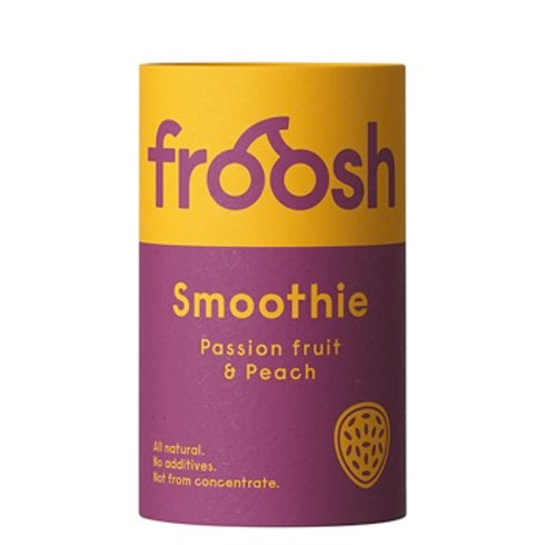 Froosh Smoothie Peach & Passion Paper Can 150ml