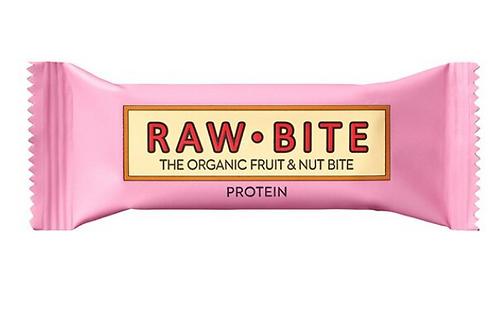 Raw Bite Protein 50g Pural Bio Cashewriegel 30g