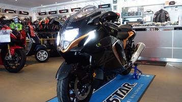 Et «sneak peak» av nye Suzuki Hayabusa – høy wow-faktor