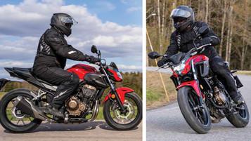 Vi har testet Honda CB500F