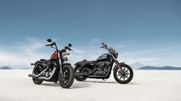 To nye 1200 Sportster fra Harley-Davidson
