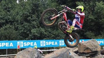 Sondre «Gekko» Haga på 6.-plass i søndagens VM-runde i Spania