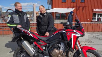 Hvorfor digger du din egen motorsykkel? Bjørn Heieren og Honda CFR1100L Africa Twin