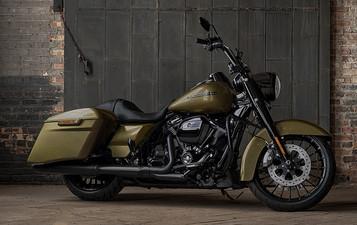 Ny Road King fra Harley