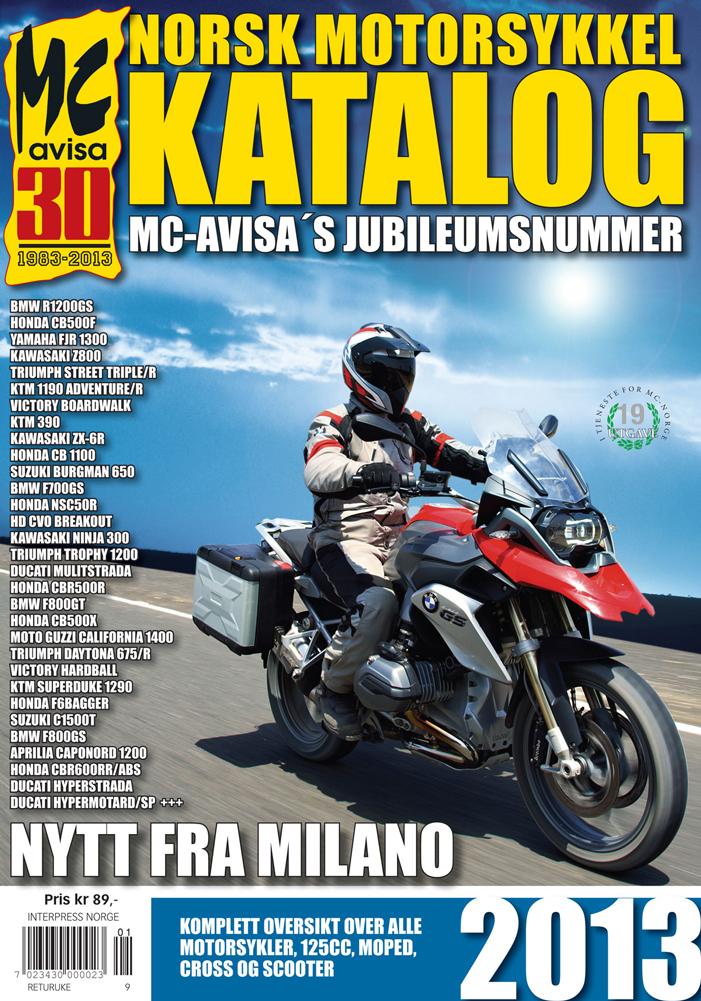 Norsk MC-katalog 2013