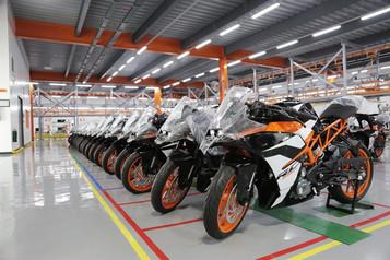 KTM åpner ny fabrikk på Filippinene