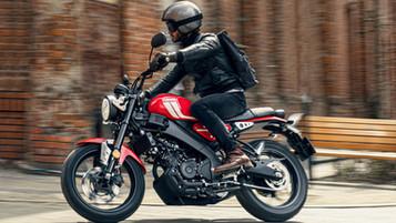 Yamaha XSR125 – ny lettvekter med tidløst design