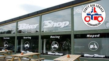 Støtt din lokale forhandler – BikerShop i Trondheim