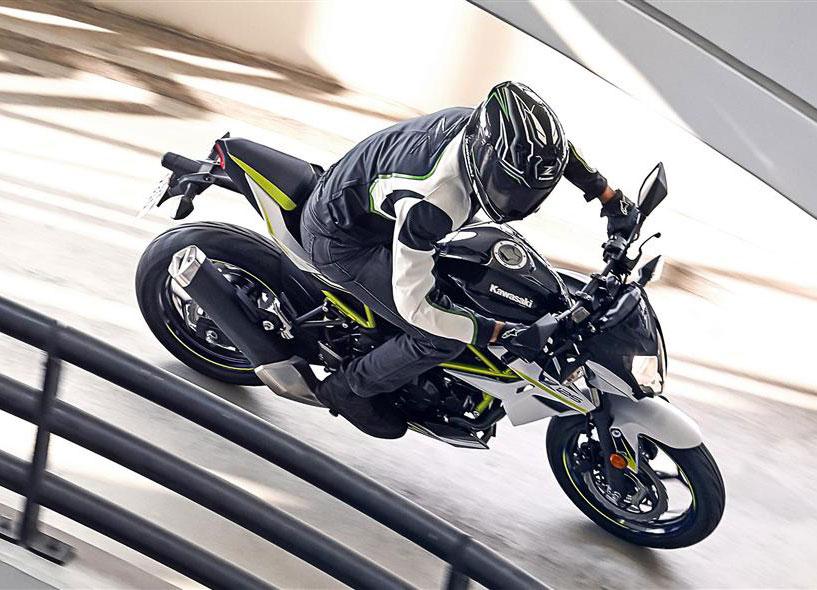 Kawasaki sin Z125 ligger nå på sjetteplass.