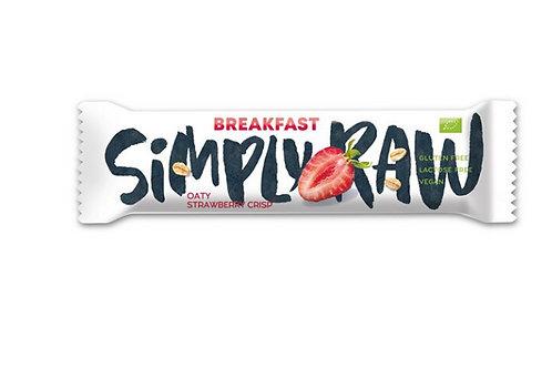 Simply Raw Breakfast Oaty Strawberry Riegel 40g
