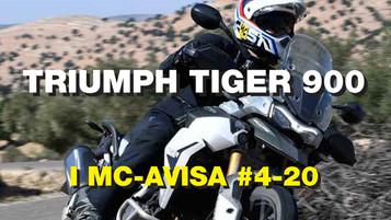 Førsteinntrykk fra Tiger 900-test