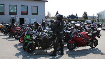 Prøvekjør drømmesykkelen på AGM Weekend