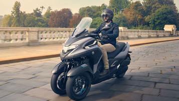 Yamaha avslører prisen på nye Tricity 300
