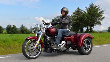 Harley-davidson Freewheeler – På tre hjul i svingen