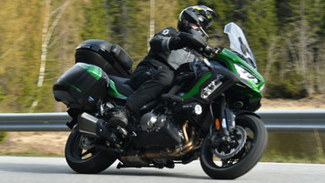 Vi har testet Kawasaki Versys 1000 S