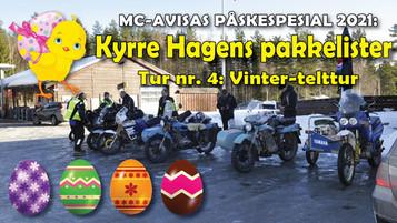 Kyrre Hagens pakkelister – tur nr. 4: Vinter-telttur