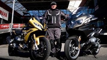 Duell mellom BMW RT og RS