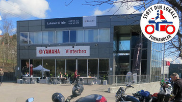 Støtt din lokale forhandler – Yamaha Vinterbro i Oslo