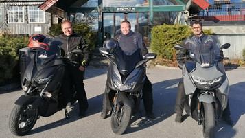 Glimt fra Scooter Adventuring i Telemark