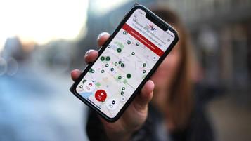 Appen «Hjelp 113» nær to millioner nedlastninger