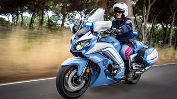 Det italienske politiet har valgt Yamaha FJR 1300 EA