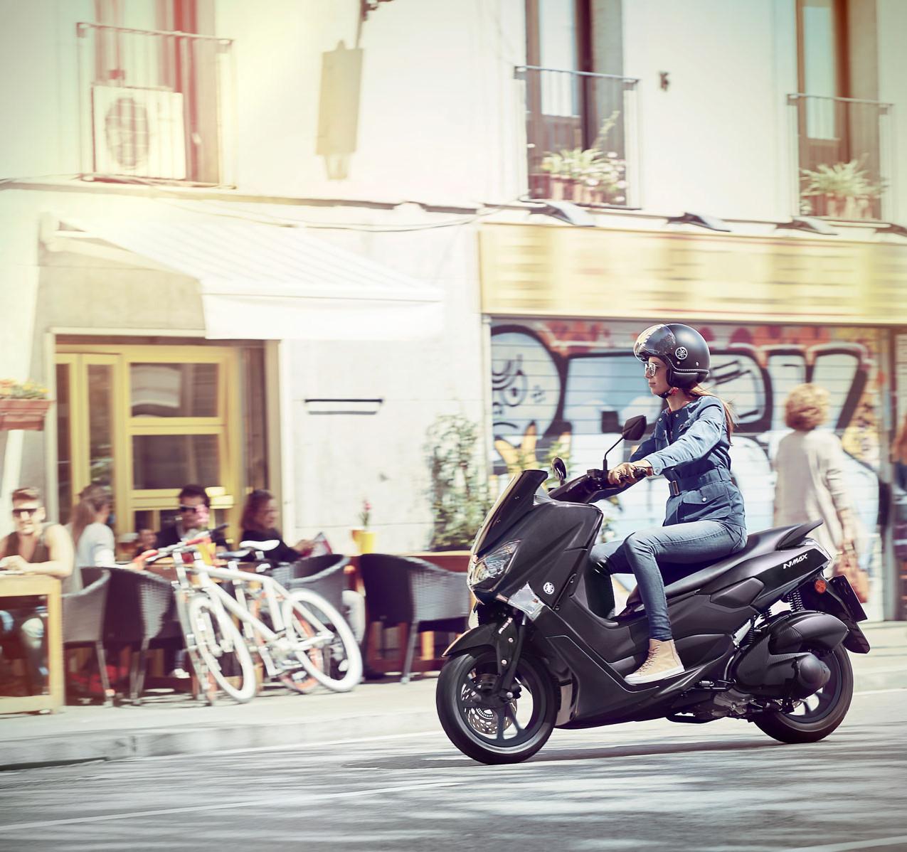 Yamaha N-MAX 125 er den mest solgte scooteren blant lettvekterne