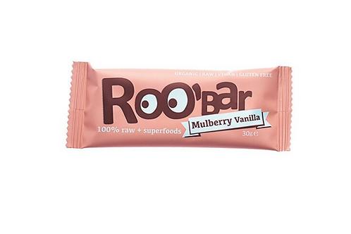Roobar Mulberry & Vanilla Roobar Protein Haselnuss + Schoko 40g
