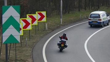 DEKRA tester nye trafikkskilt i Tyskland