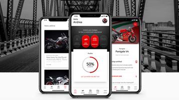 Ducati lanserer en ny «digital garasje» for Desmo-universet
