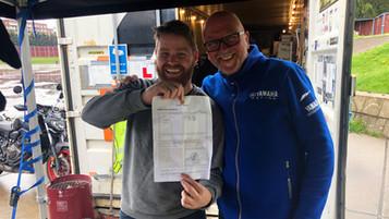 Lars og veien til førerkortet – Den store styrketesten
