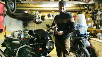Michael Kristensen – setter i stand motorsykler som andre ville kastet