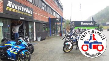 Støtt din lokale forhandler – Monsterbike i Drammen