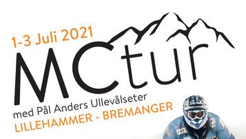 MC-tur med Pål Anders Ullevålseter 1.–3. juli