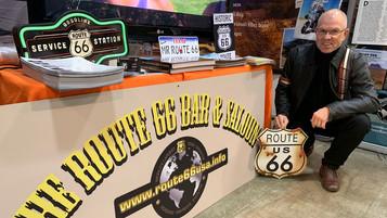 Første europeer på Route 66 med EL-Harley