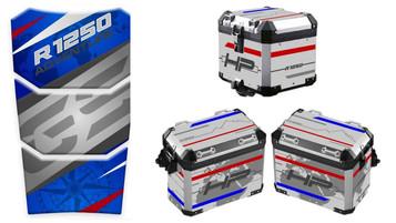 MC OSLO med tankpads og dekalsett til kofferter